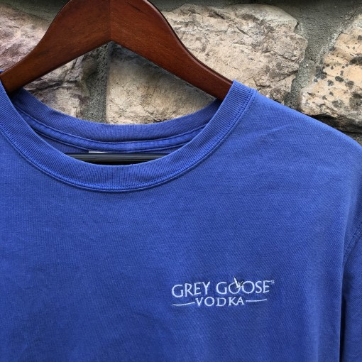 90's Grey Goose Vodka T shirt size large