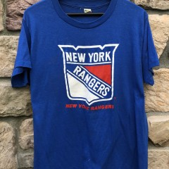 80's New York Rangers Screen Stars NHL T Shirt size XL vintage