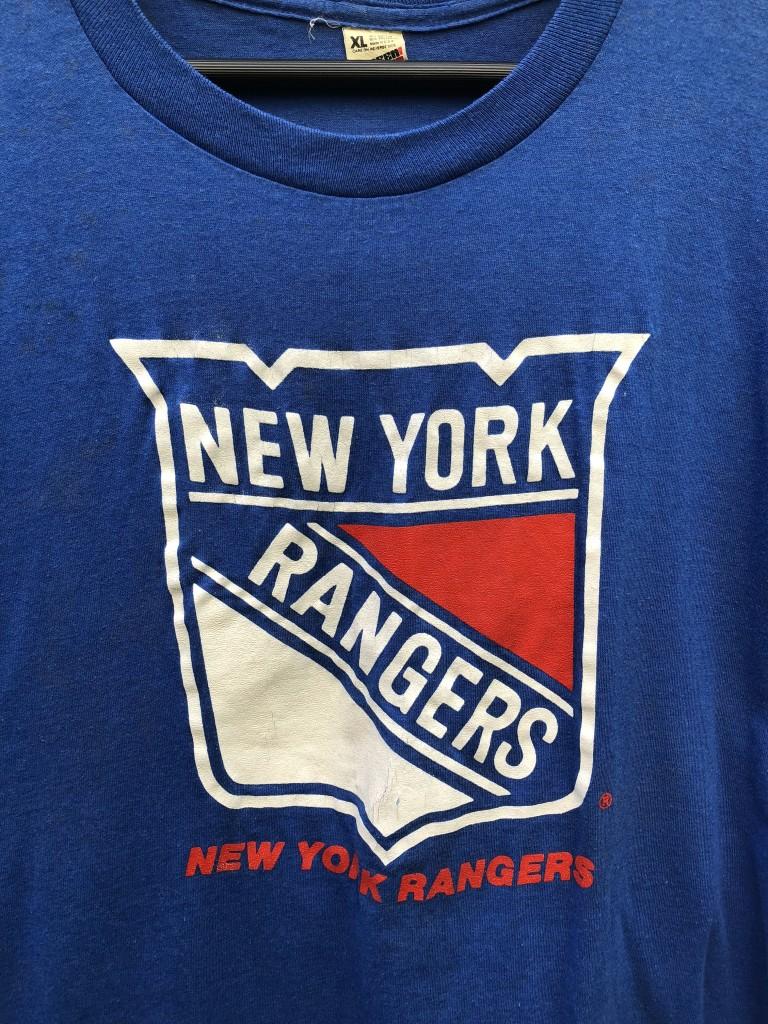 091ce57ec 80 s New York Rangers Screen Stars NHL T Shirt size XL vintage