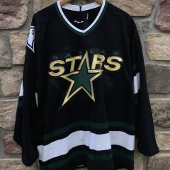 90's Dallas Stars Authentic CCM NHL Hockey jersey size 52 XXL