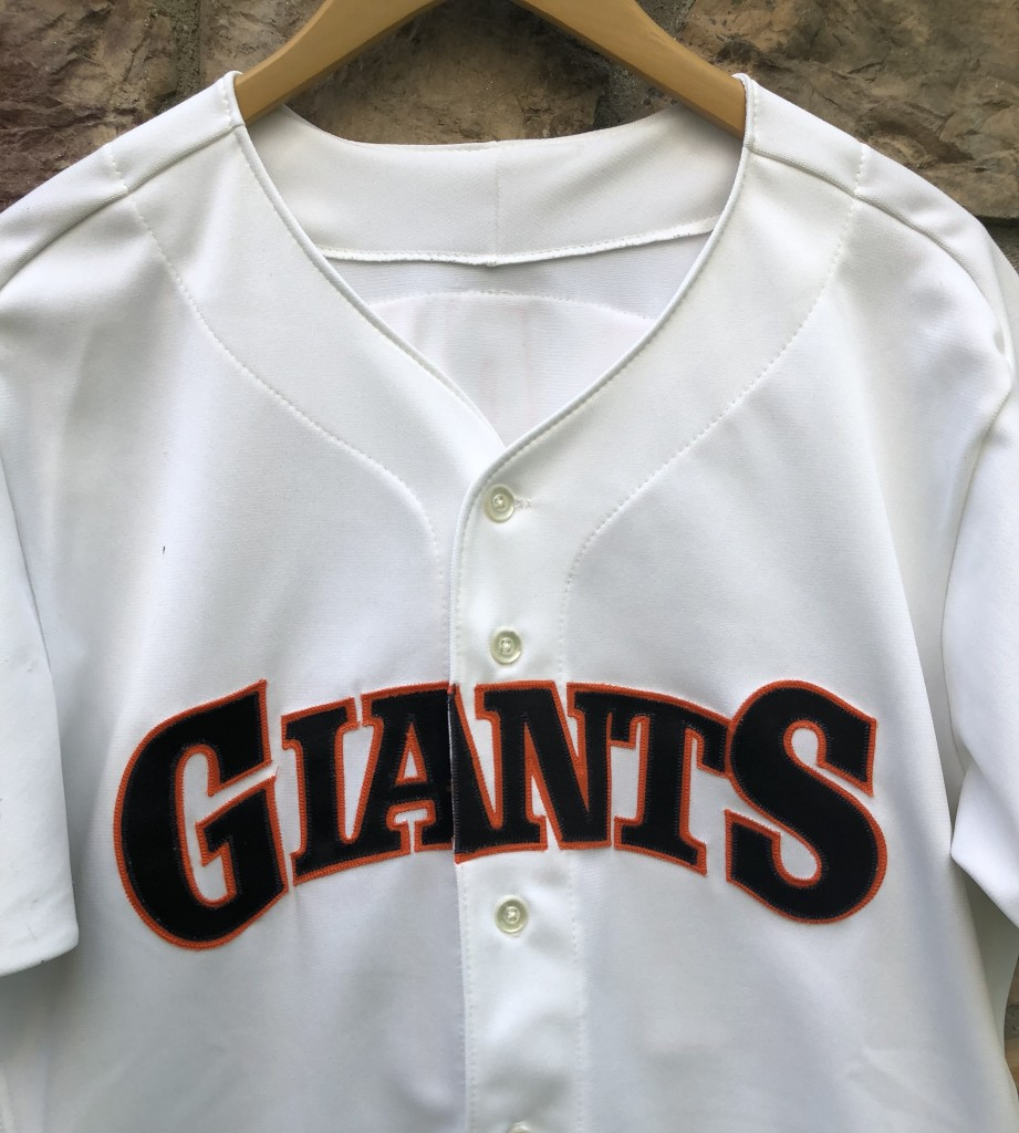 quality design 23c07 4bb1a 1990 Will Clark San Francisco Giants Pro Cut Authentic Rawlings MLB Jersey  Size 44