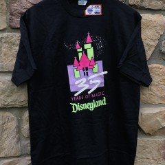 90's deadstock 35 years of magic disneyland single stitch t shirt size large