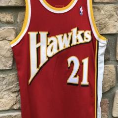1993-94 Dominique Wilkins Atlanta Hawks Pro Cut Champion Authentic NBA  Jersey size 42 large e4ca466f7