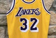 1990 Los Angeles Lakers Magic Johnson Champion Authentic NBA Jersey size 44 large