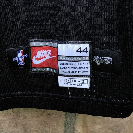 1999 San Antonio Spurs Steve Kerr Pro Cut Authentic Nike NBA Jersey size 44 +2