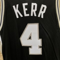 1999 San Antonio Spurs Steve Kerr Pro Cut Authentic Nike NBA Jersey size 44 +2