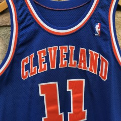 1993-94 Terrell Brandon Cleveland Cavaliers Game Worn Champion NBA jersey size 44+2 length