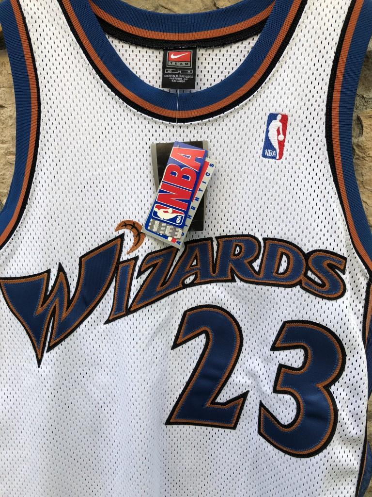 27843a9c1868 2001 Washington Wizards Authentic Nike Michael Jordan Jersey size 40