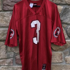 vintage 2000's Allen Iverson Reebok Football Jersey I3 size large