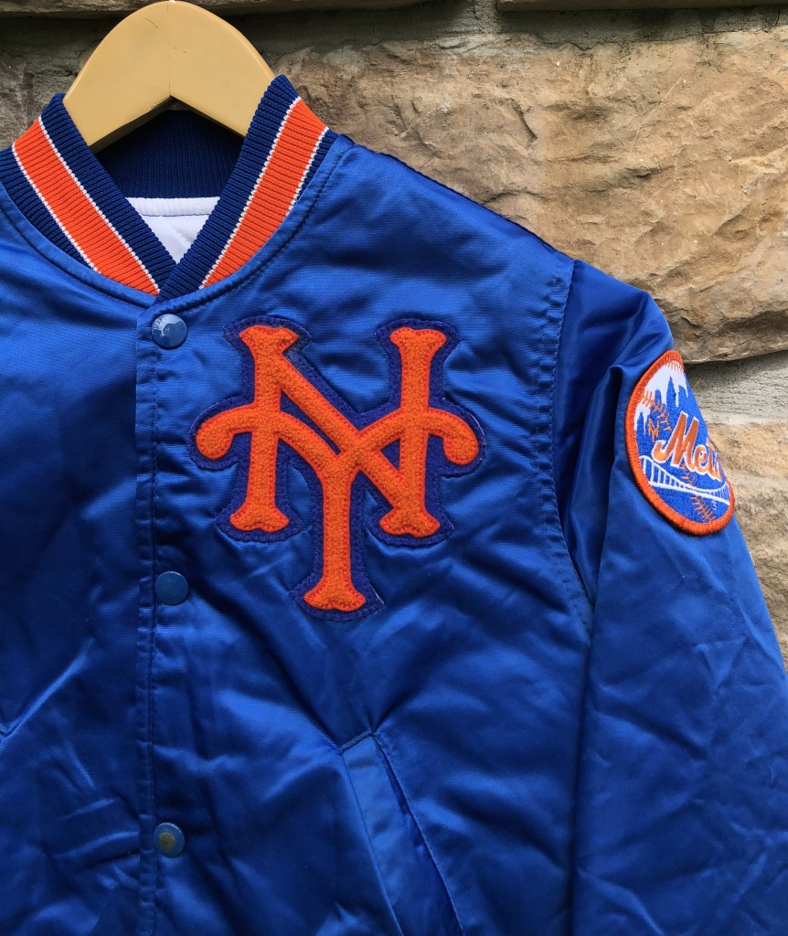 1dee71e22 90's New York Mets Starter Satin Diamond Collection MLB Jacket Youth Small