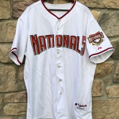 2006 Washington Nationals Majestic Authentic MLB Jersey size 52 XXL