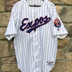 2002 Montreal Expos Russell Authentic MLB Jersey size 52 XXL