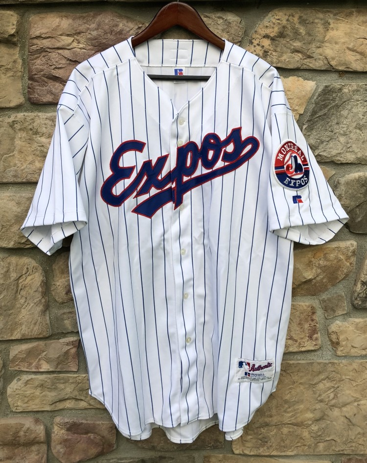 2002 Montreal Expos Russell Authentic MLB Jersey size 52 XXL 60aae4182