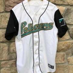 2001 Myrtle Beach Pelicans Carolina League Minors Authentic Jersey size 48