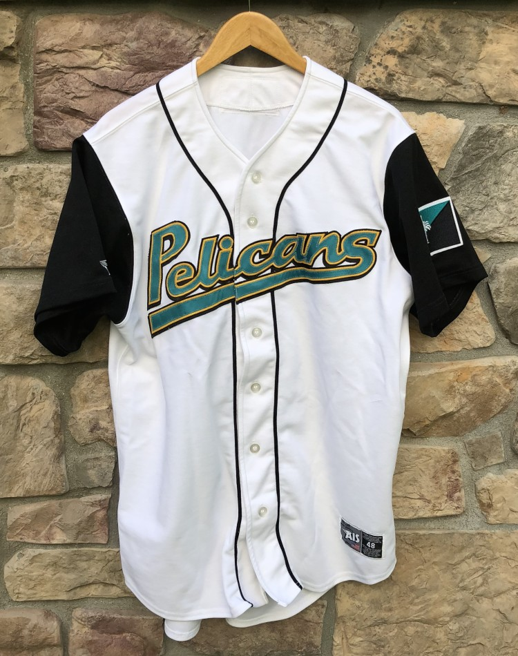 4072841beed 2001 Myrtle Beach Pelicans Carolina League Minors Authentic Jersey size 48