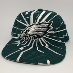 90's 1996 Philadelphia Eagles Starter Shatter Snapback Hat pro line vintage authentic