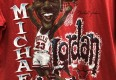 1990 Michael Jordan chicago bulls salem sportswear cartoon caricature nba t shirt vintage size medium