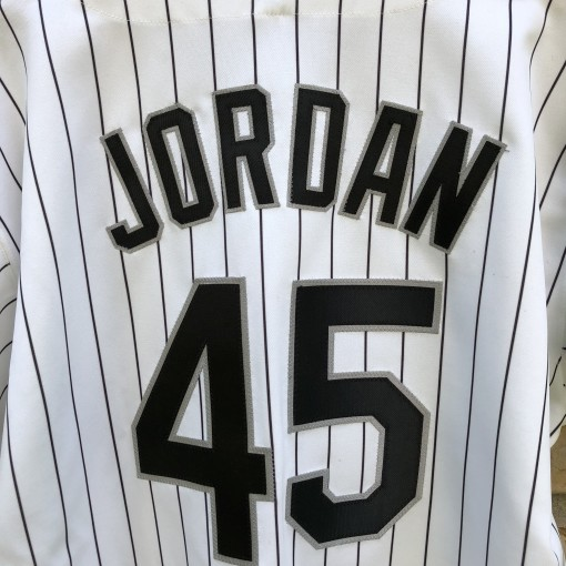 1994 Michael Jordan Chicago White Sox Authentic Russell Diamond Collection MLB jersey size 50