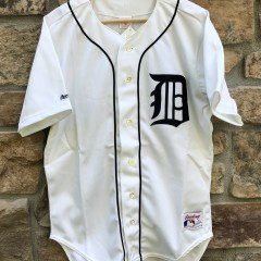 1990 Cecil Fielder Detroit Tigers Rawlings Authentic MLB Jersey size 44 large deadstock vintage