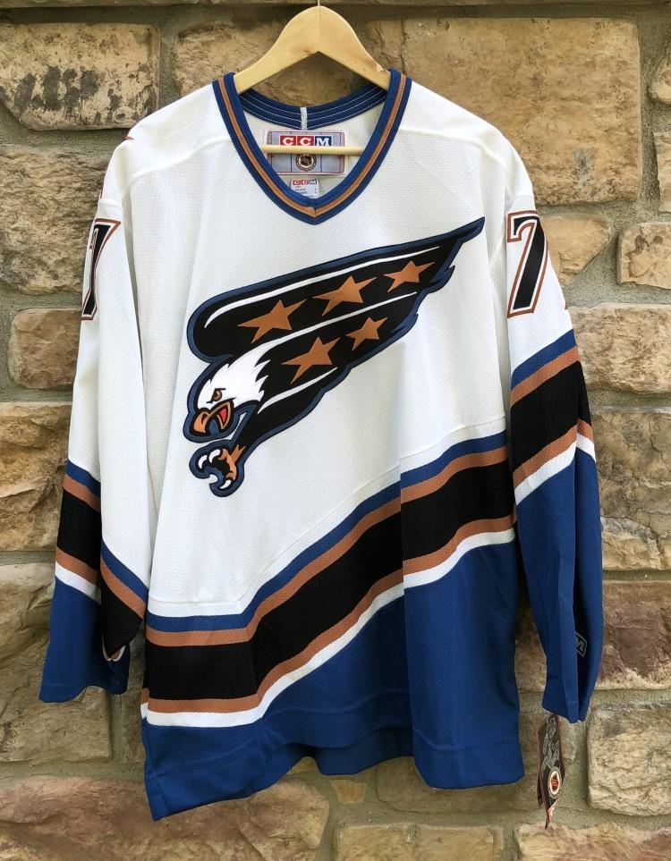 5ea4887ef 1997 Adam Oates Washington Capitals CCM NHL Jersey size Large deadstock