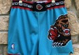 90's Vancouver Grizzlies Authentic Champion NBA Shorts Size 38 vintage aqua 1998