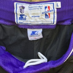 90's Sacramento Kings Starter Authentic Champion NBA Shorts size Large