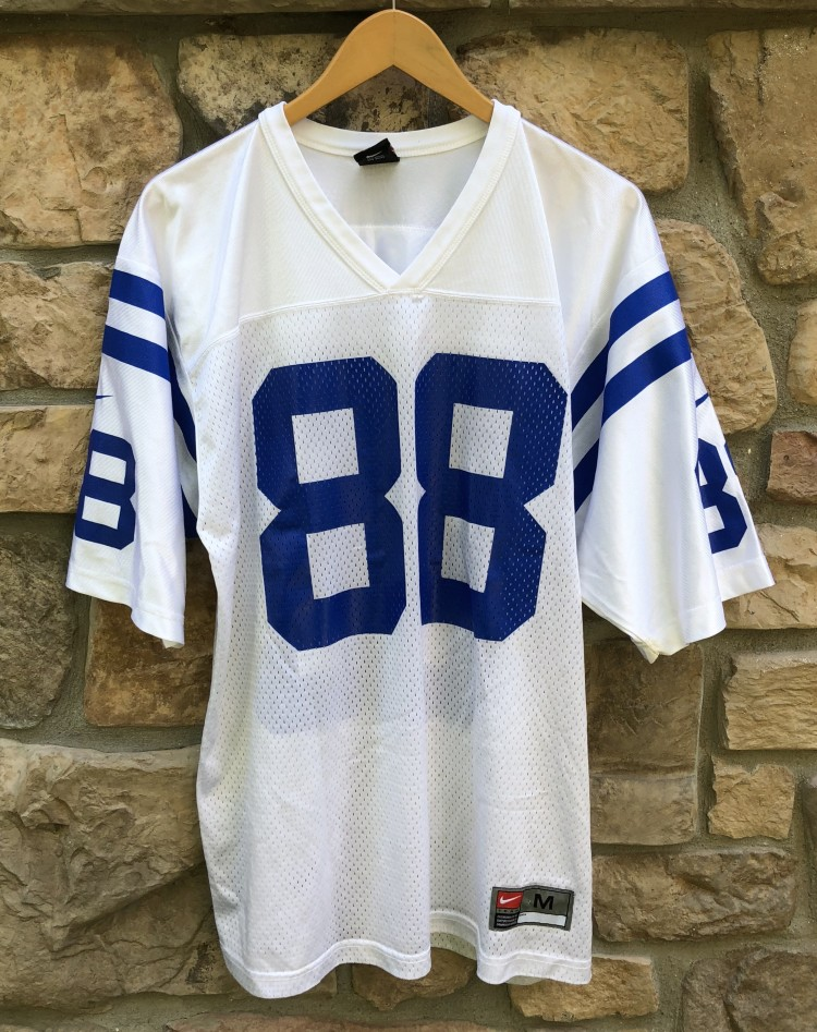 1998 Marvin Harrison Indianapolis Colts Nike NFL Football Jersey