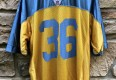 00's vintage Philadelphia Eagles Brian Westbrook Reebok NFL Jersey size large frank ford yellow jackets yellow throwback 1933