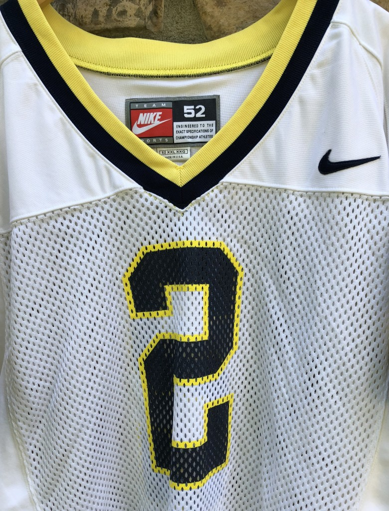 online retailer 0e065 7c0c8 1997 Charles Woodson University of Michigan Authentic Nike NCAA Jersey