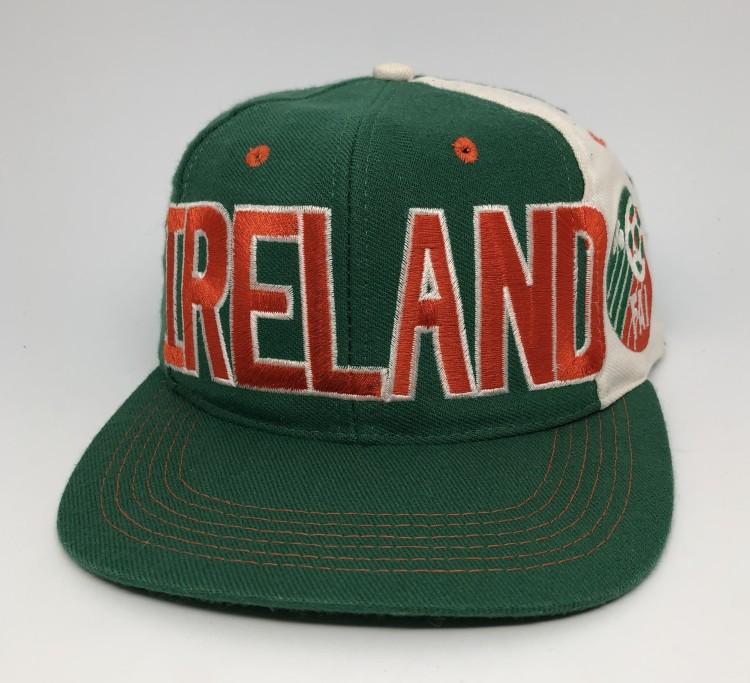 1994 Ireland World Cup Futball Soccer Adidas snapback hat vintage 020f57756c5d