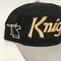 90's New York New Jersey Knights World League of american football WLAF sports specialties script snapback hat