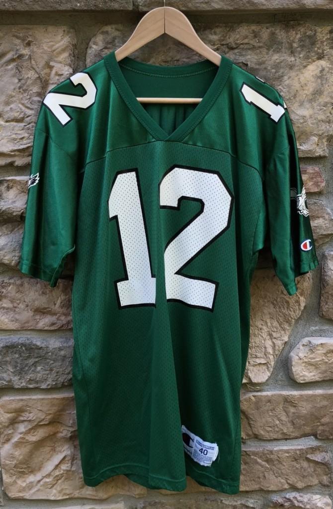 premium selection 30e5b ac908 1991 Randall Cunningham Philadelphia Eagles Champion NFL Jersey Size 40