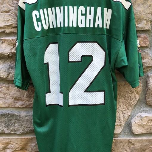 90's Philadelphia Eagles randall cunningham Champion vintage nfl jersey size 40