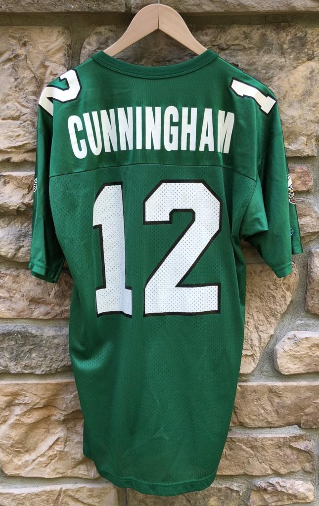 premium selection 72bc1 0bdfe 1991 Randall Cunningham Philadelphia Eagles Champion NFL Jersey Size 40
