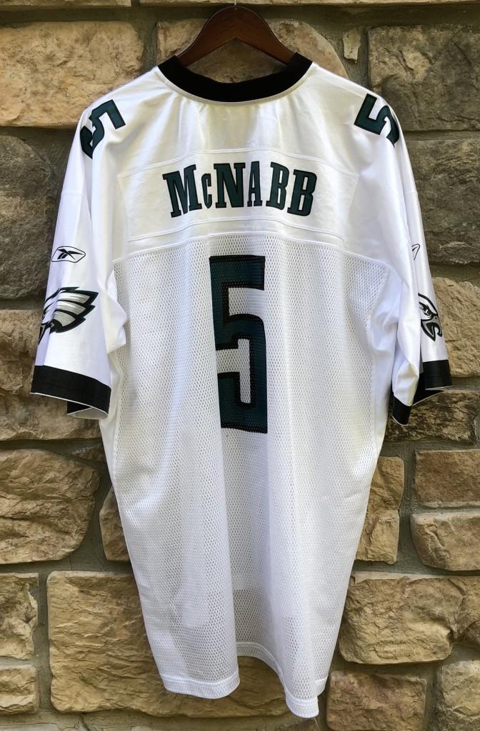 1a66f636b 2002 Donovan McNabb Philadelphia Eagles Reebok NFL Jersey Size XXL ...