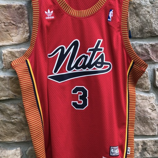 2004 Allen Iverson Philadelphia Sixers 76ers Syracuse Nationals Hardwood Classics Adidas NBA jersey size XL