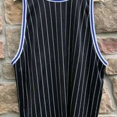 90's Orlando Magic Penny Hardaway Pinstripe champion nba jersey size 48 XL reversible