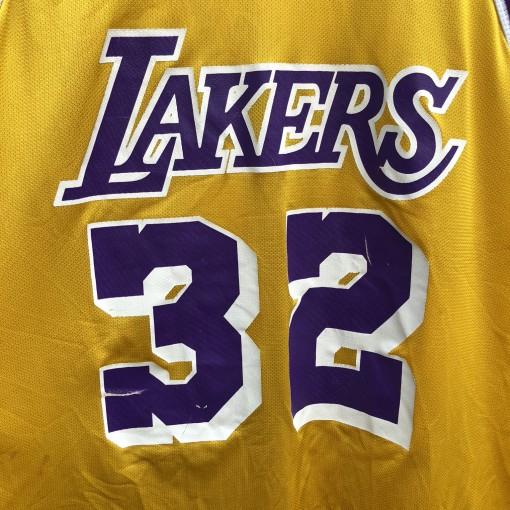 90's Magic Johnson Los Angeles Lakers Champion NBA Jersey size 48 XL