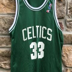 80's Boston Celtics Larry Bird Champion NBA Jersey size 48 XL