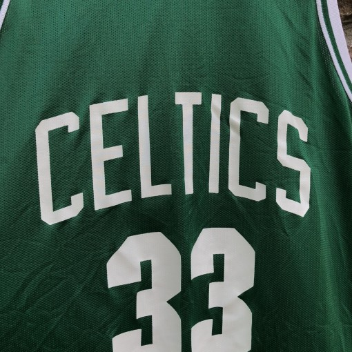 80's Boston Celtics Larry Bird Champion NBA Jersey size 48 XL