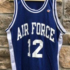 90's Air Force Falcons Champion NCAA jersey size 44 large