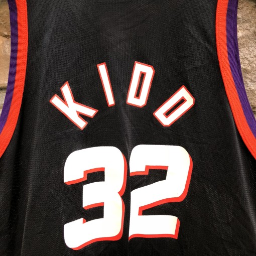 90's Jason Kidd Phoenix Suns Champion NBA Jersey size medium vintage