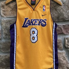 2001 Kobe Bryant Los Angeles Lakers Nike Swingman NBA jersey youth size large