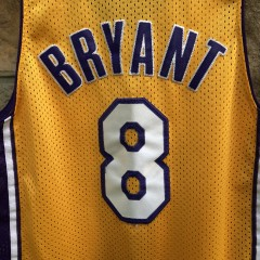 2001 Kobe Bryant Los Angeles Lakers Nike Swingman NBA jersey youth size large
