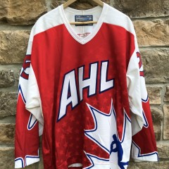 1999 Jim Montgomery Canadian AHL All Star Jersey Size Large Dallas Stars head coach