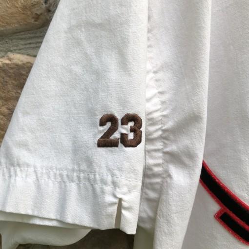 1992 90's vintage Michael Jordan Air Jordan Nike baseball jersey size XL drake