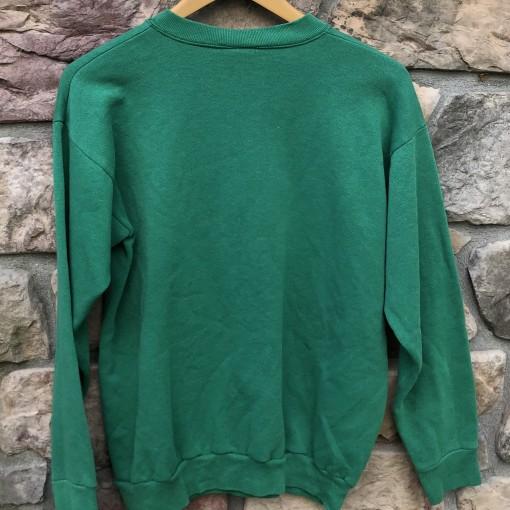 90's vintage Philadelphia Eagles kelly green logo 7 nfl crewneck sweatshirt