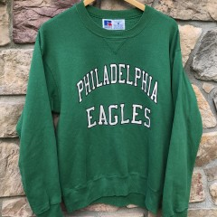 90's Philadelphia Eagles Vintage Russell pro line authentic crew neck sweatshirt size medium