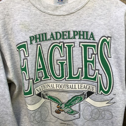 vintage 1994 Philadelphia Eagles Logo 7 NFL crewneck sweatshirt size medium