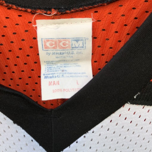 90's Philadelphia Flyers CCM Eric Lindros NHL Jersey vintage size Large